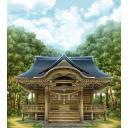 博麗神社(背景、光なし)