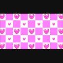【動画素材】チェッカーハート