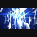 青いMir系の背景2 720p