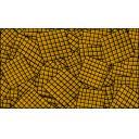 キャラメル模様の床