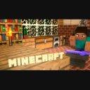 【Minecraft】テキストあり/金床を使用スティーブ シーンの間などに。