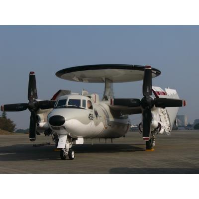 航空自衛隊E-2C(ニコニ・コモンズ)