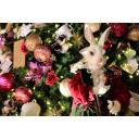 クリスマスツリーとアリスの白うさぎ