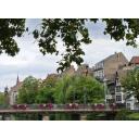 橋のある風景(ヨーロッパ・フランス)