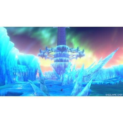 北側から氷晶の聖塔を望む光景