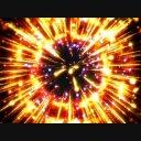 フラッシュエフェクト 花火系 吸収からの放出