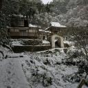 雪景色の鐘撞堂
