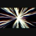 放射状の光