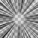集中線(2000×2000)Aパターン