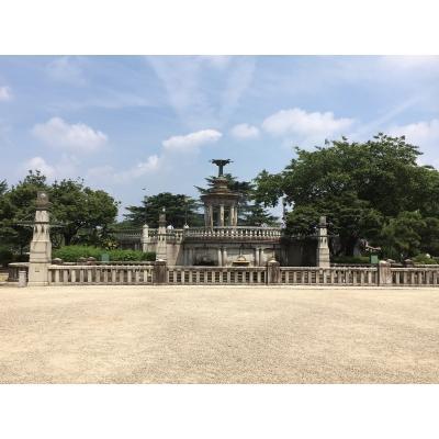 鶴舞公園 噴水塔