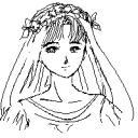 月桂冠の少女
