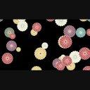 舞い落ちる菊
