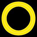 【アニメーション】 光の輪が広がって消える 【キラキラ】