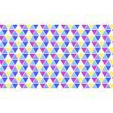 シンプルなテキスタイル風壁紙(三角)