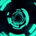 デジタルなトンネル 攻殻機動隊風 (遅い版)[1920HD]