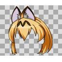 サーバル・髪パーツ