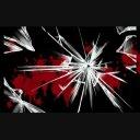 【エフェクト】ガラスと血しぶき