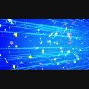 ループする背景(光のラインと星などのパーティクル)