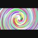 カラフル渦巻き