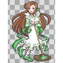 緑咲香澄・公式っぽいポーズ