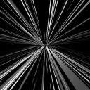 アニメ効果エフェクト(移動する光の筋、逆光)