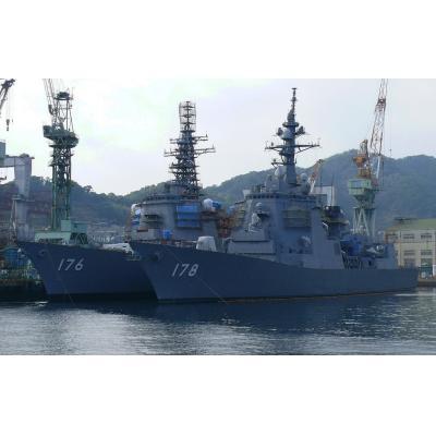 DDG-176 ちょうかい&DDG-178 あしがら
