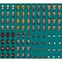 ■「けものフレンズ」ゲーム向けドット絵素材 アニメ登場フレンズ01