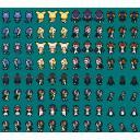 ■「けものフレンズ」ゲーム向けドット絵素材 アニメ登場フレンズ02