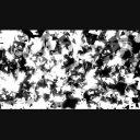 【エフェクト背景】崩壊パーティクル(白黒反転)