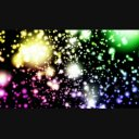 かわいい映像素材snow rainbow