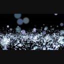 白particleの波