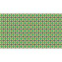 カラフルな目玉のパターン背景素材