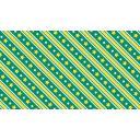 【1280×720☆背景素材】緑と黄色の大きめな星とストライプの背景