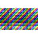 7色ピラミッド型壁紙(1280x720版)