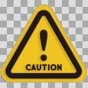 【標識】!(注意・警告)02【アイコン】
