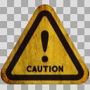 【汚れた標識】!(注意・警告)02-2【アイコン】