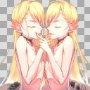 耽美系双子立ち絵【目閉じ】