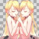 耽美系双子立ち絵【半目】