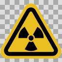 【標識】放射能▲【ハザードシンボル】