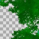 木の素材 緑