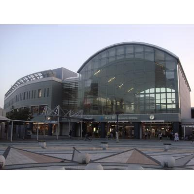 JR四国の高松駅を正面から撮影