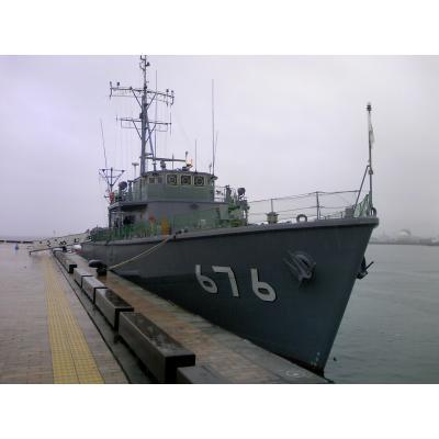 海上自衛隊うわじま型掃海艇「くめじま」(ニコニ・コモンズ)