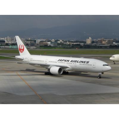 JAL ボーイング777 鶴丸塗装