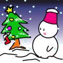【GIF】ぼっちのクリスマス。【アニメ】