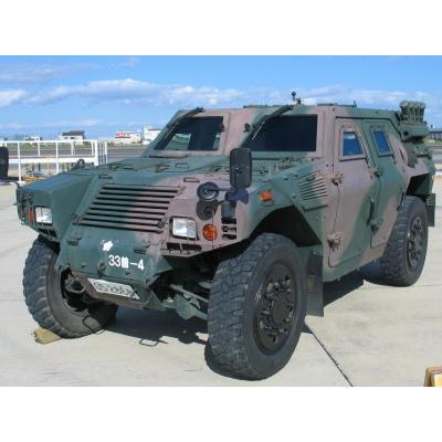 軽装甲機動車(陸上自衛隊・第33普通科連隊。2010年の明野航空祭にて)
