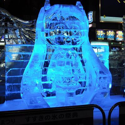 第62回雪まつり 初音ミク氷像