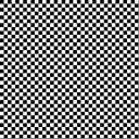 超巨大 市松模様マット 5120×5120 白と黒