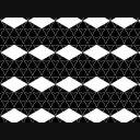 変化する和風な幾何学模様