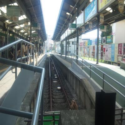 江ノ電鎌倉駅ホーム端