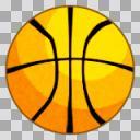 バスケットボール【アニメ風】
